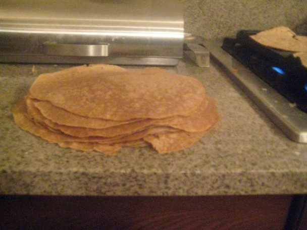 Fresh Einkorn Tortillas
