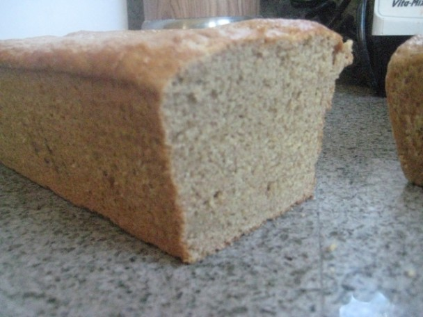 Freshly Baked Einkorn Bread Sliced