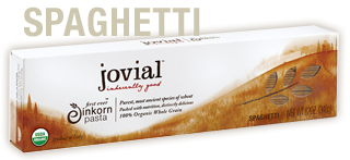 Jovial Foods Spaghetti Whole Grain Einkorn Pasta