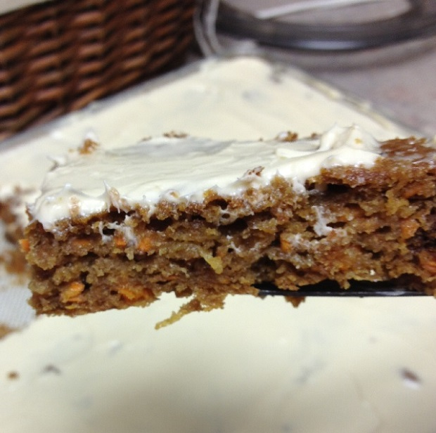 Einkorn Carrot Cake