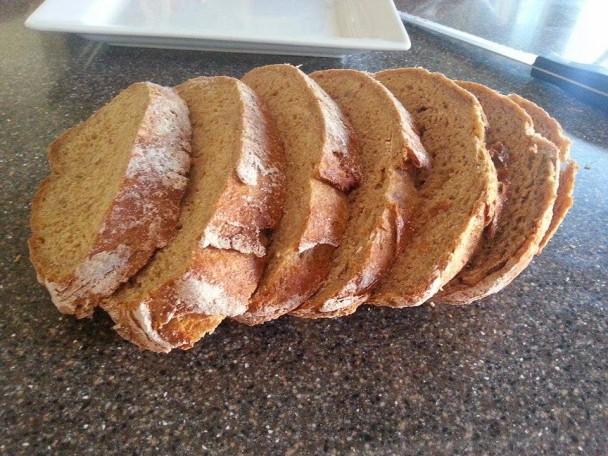 slow rise einkorn bread
