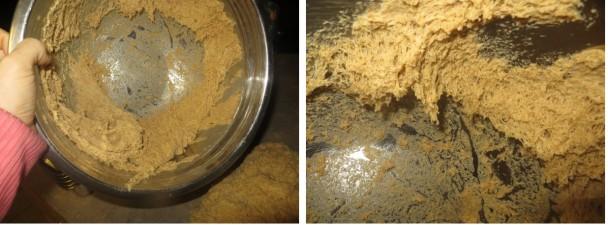 Spongy einkorn dough
