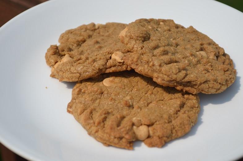 Einkorn Peanut Butter Cookies