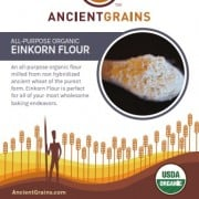 Einkorn Flour Label