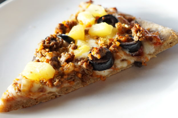 einkorn sourdough pizza