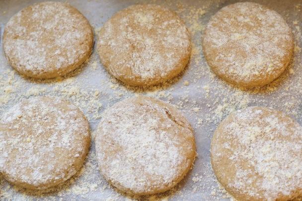 Einkorn English Muffin Dough