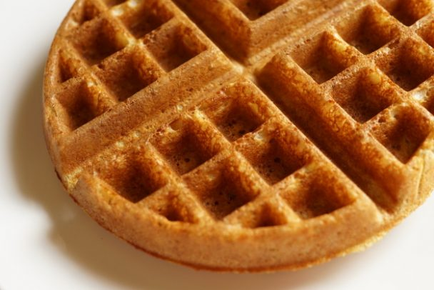 multi-grain einkorn waffle plain