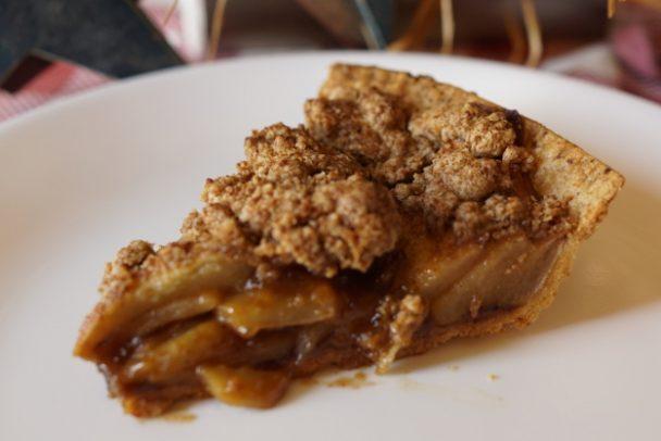 Einkorn Apple Pie Piece