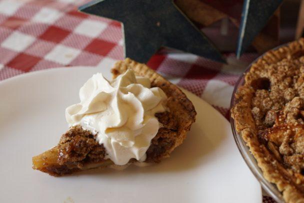 einkorn apple pie crust