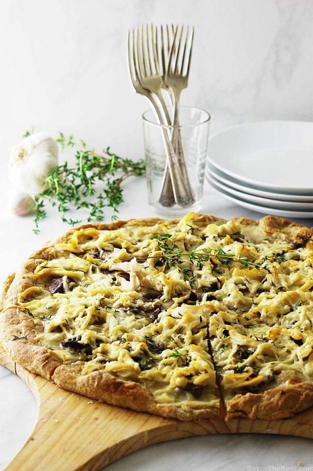 einkorn-chicken-mushroom-pizza-IMG_9724