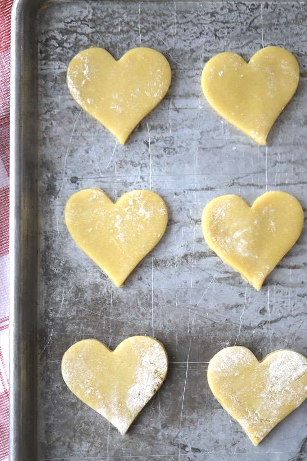 sugar cookie recipe made with all-purpose einkorn flour